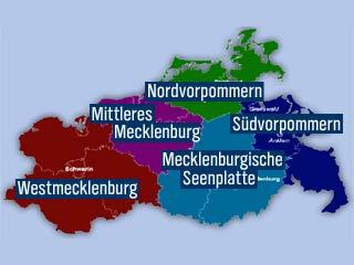 Verwaltungsreform MV neue Landkreise